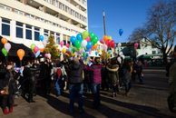 Aktion Wunschluftballon am 25. November 2014